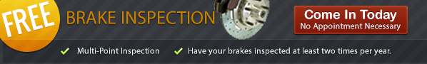 Vacaville Auto Free Brake Inspection